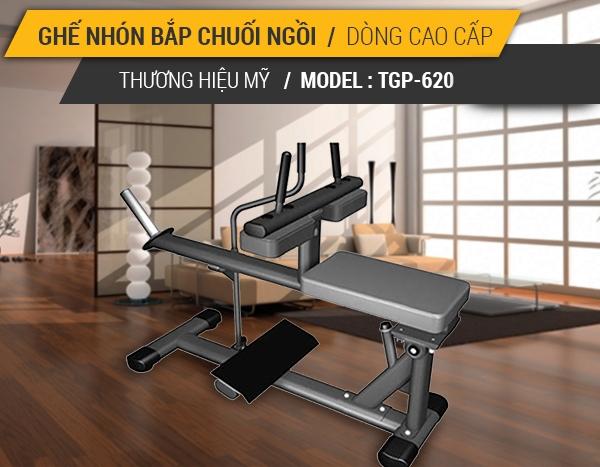 Ghế tập nhón bắp chuối dạng ngồi Tiger Sport Premium TGP-620