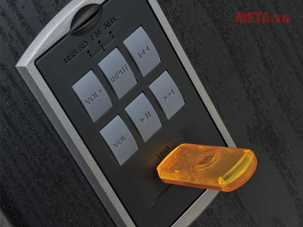 Loa Edifier R2500 tích hợp ke cắm USB