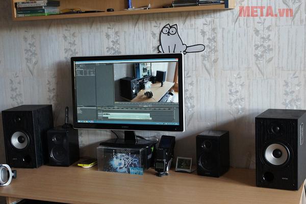 Loa Edifier R2500 giúp mở rộng không gian trang trí âm nhạc của bạn