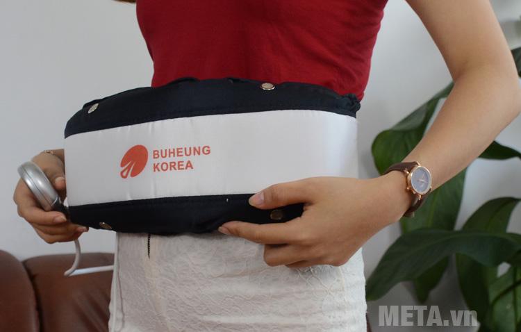 Đai massage Buheung HMO-2005LB giúp đánh tan mỡ bụng