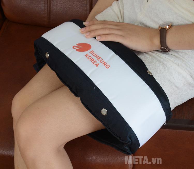 Đai massage Buheung HMO-2005LB giúp giảm mau nhức, xua tan mệt mỏi