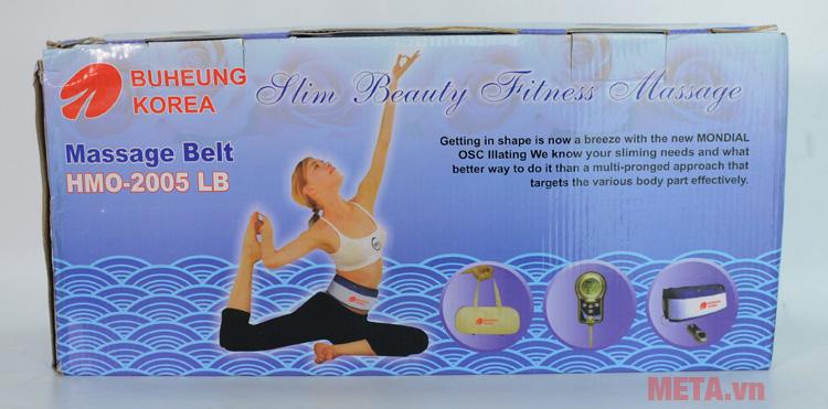 Hộp đựng đai massage Buheung HMO-2005LB