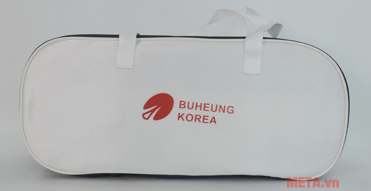 Massage bụng Buheung HMO-2005LB thiết kế thêm túi đựng giúp bạn cất đặt và mang đi theo