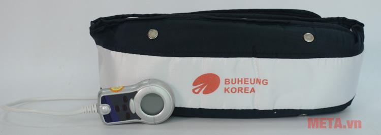 Massage bụng Buheung HMO-2005LB kết hợp liệu pháp nhiệt, tăng cường hiệu quả massage