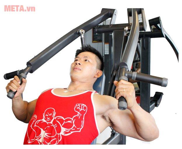 Máy tập ngực trên Tiger Sport Premium TGP-670 giúp luyện tập thể hình hiệu quả