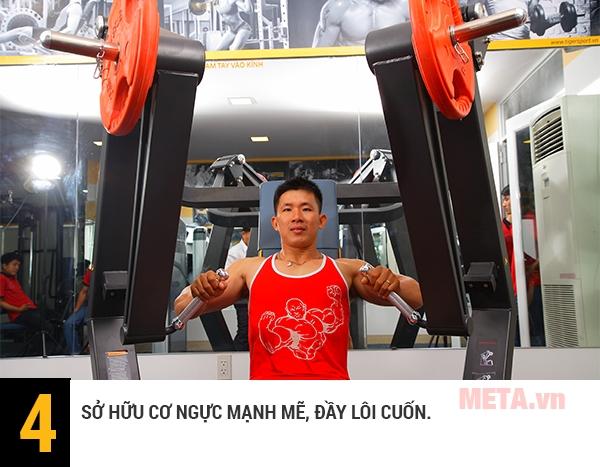 Đây là thiết bị thể lực cần thiết của mỗi phòng tập gym