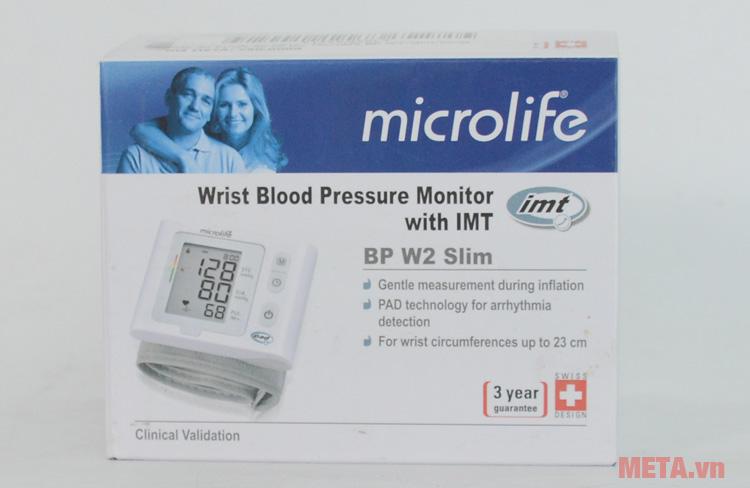 Hộp đựng máy đo Microlife BP W2-Slim-Wrist