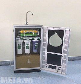 Máy lọc nước Sambon RO C200 có vỏ tủ bằng kính chịu lực
