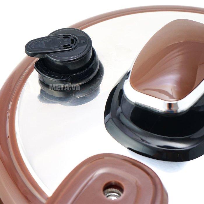 SH1550 thiết kế van xả áp thông minh, tự động xả hơi khi áp suất trong nồi tăng cao