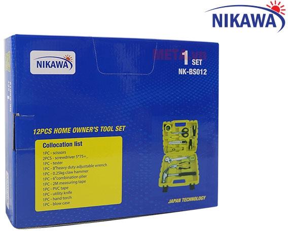 Hộp đựng sản phẩm dụng cụ 12 món Nikawa NK-BS012