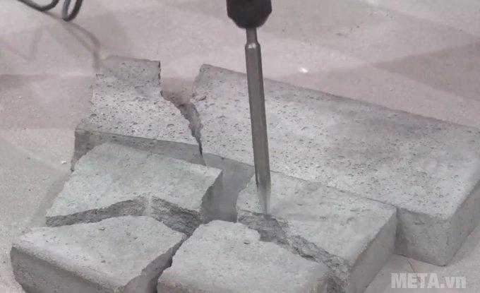 Máy khoan búa INGCO RH12008 cho khả năng đục bê tông mạnh mẽ