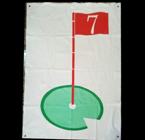 Tâm phát bóng golf TBG30 (hình lá cờ)