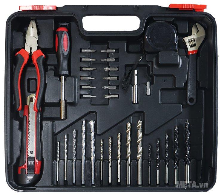 Bộ máy khoan động lực Nikawa ID38 dùng cho gia đình và thợ sửa chữa chuyên nghiệp