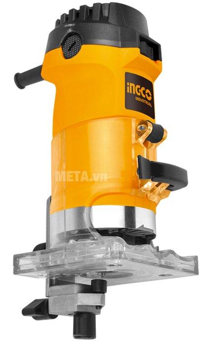 Máy phay gỗ INGCO PLM5 có màu vàng sang trọng