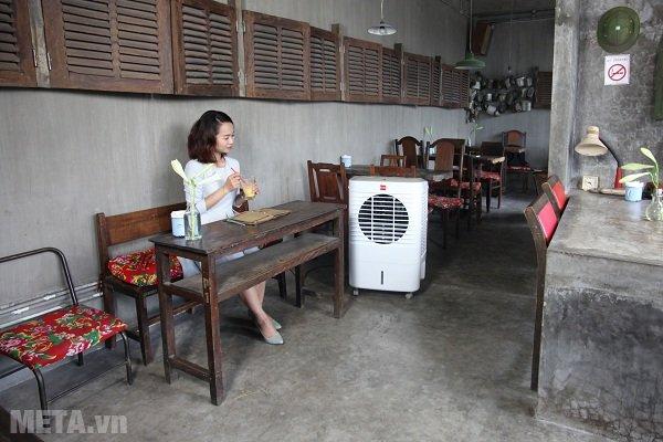 Máy làm mát Air Cooler Cello Smart 30 dùng được cho quán cà phê