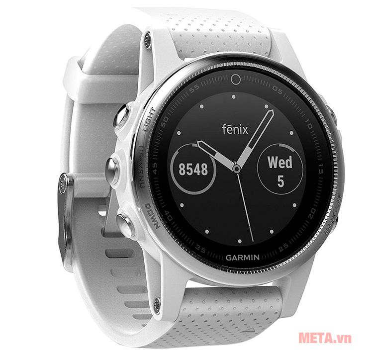 Vòng đeo tay Garmin Fenix 5S có thể kết nối Wifi
