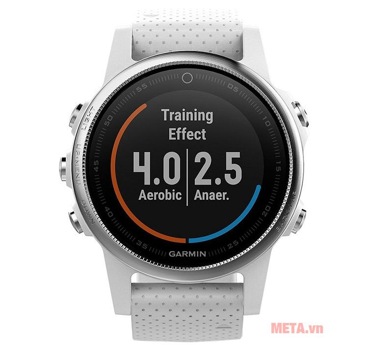 Vòng đeo tay Garmin Fenix 5S có khả năng chống nước ở độ sâu 100m