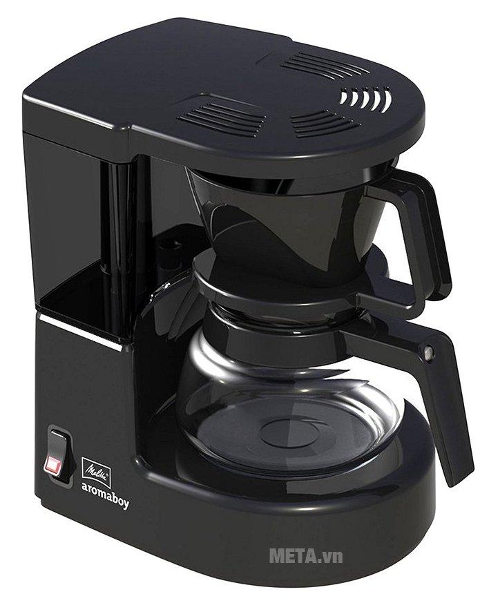 Máy pha cà phê giấy lọc Melitta Aromaboy II có thiết kế tiện lợi