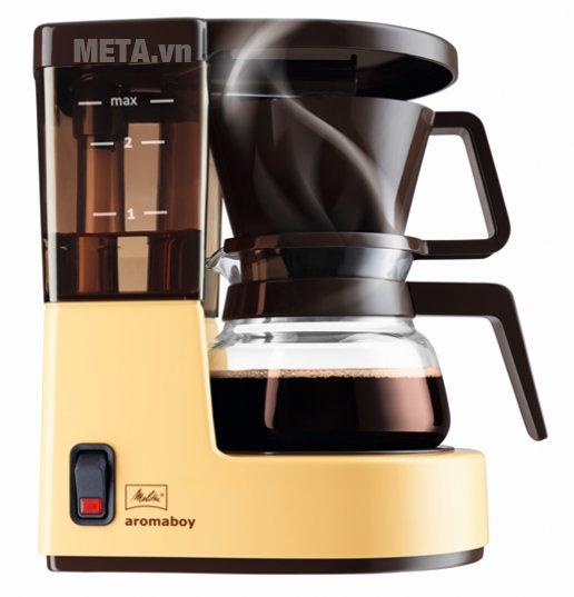 Máy pha cà phê giấy lọc Melitta Aromaboy II màu nâu