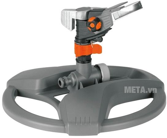 Vòi tưới quay 360 Gardena 08135-20 dạng đế tròn