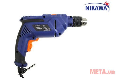 Máy khoan Nikawa NK-I600 có thiết kế cầm tay tiện dụng