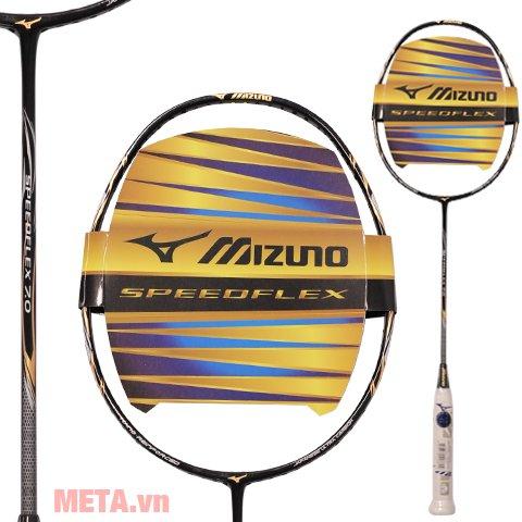 Vợt cầu lông Mizuno SPEEDFLEX 7.0 có độ đàn hồi và độ mềm dẻo cao