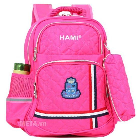 Balo cấp 1 Hami BL201A màu hồng