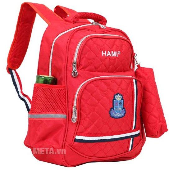 Balo cấp 1 Hami BL201A có logo Hami phía trước