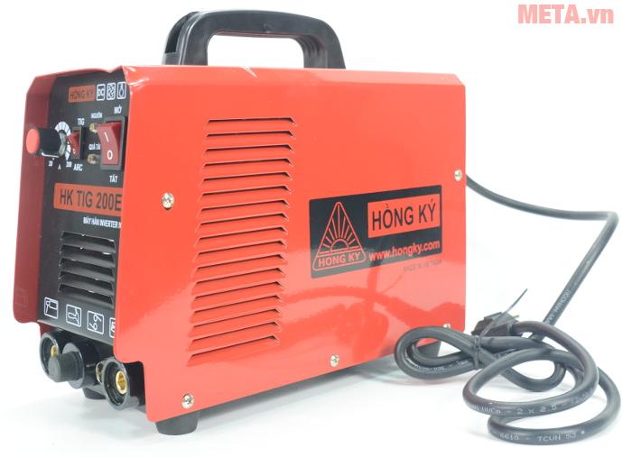 Máy hàn điện tử Hồng Ký HK TIG 200E thuộc dòng máy hàn TIG