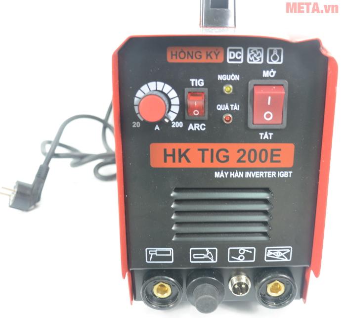 Máy hàn điện tử Hồng Ký HK TIG 200E.