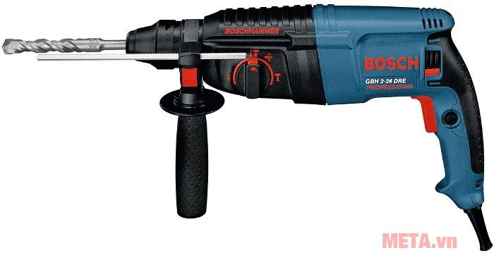 Máy khoan búa Bosch GBH 2-26 DRE có tính năng đảo chiều