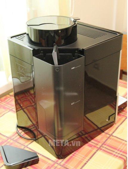 Máy pha cà phê Melitta Caffeo Passione OT có chất liệu cao cấp