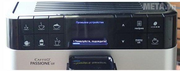 Máy pha cà phê Melitta Caffeo Passione OT với các nút điều chỉnh dễ dàng