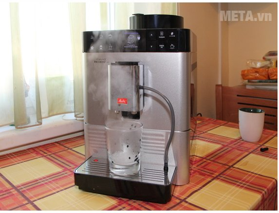 Máy pha cà phê Melitta Caffeo Passione OT có thể tự vệ sinh