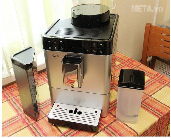 Máy pha cà phê Melitta Caffeo Passione OT thiết kế sang trọng