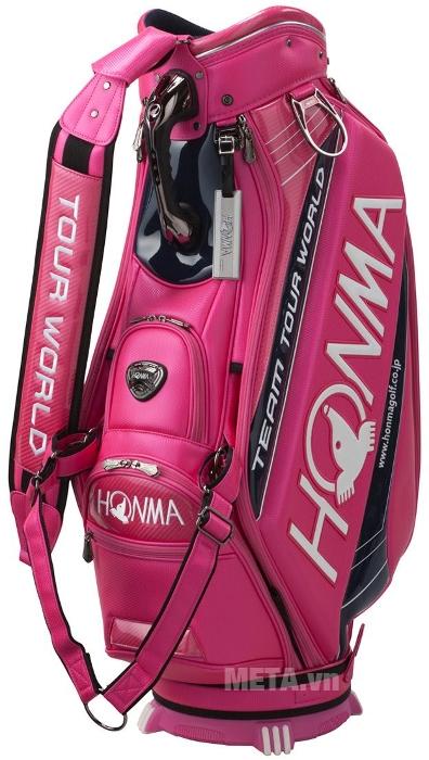 Túi đựng gậy golf Honma CB - 1701 màu hồng