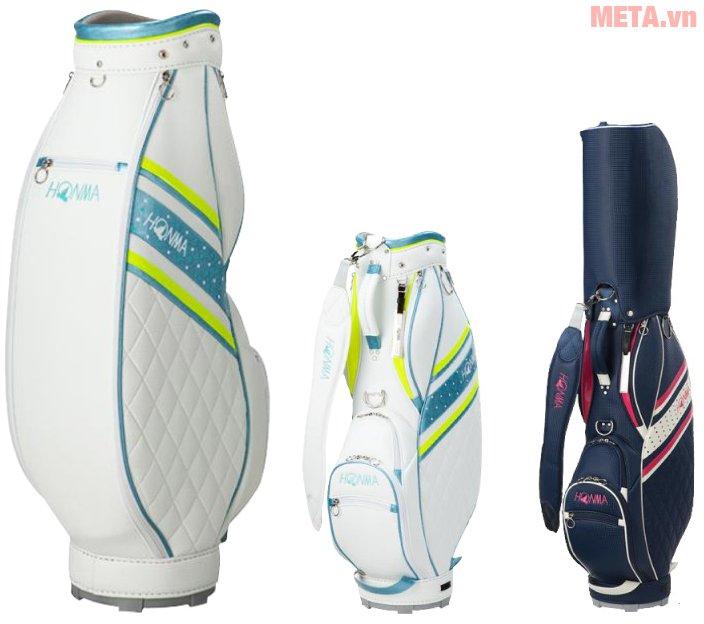 Túi đựng gậy golf Honma CB-6701 có kiểu dáng đẹp, màu sắc trang nhã