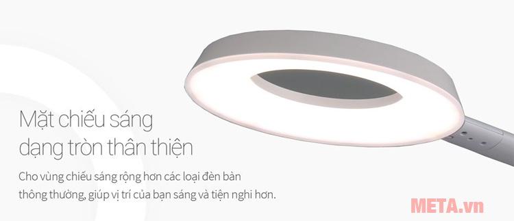 Mặt chiếu sáng tròn cho vùng chiếu sáng rộng hơn