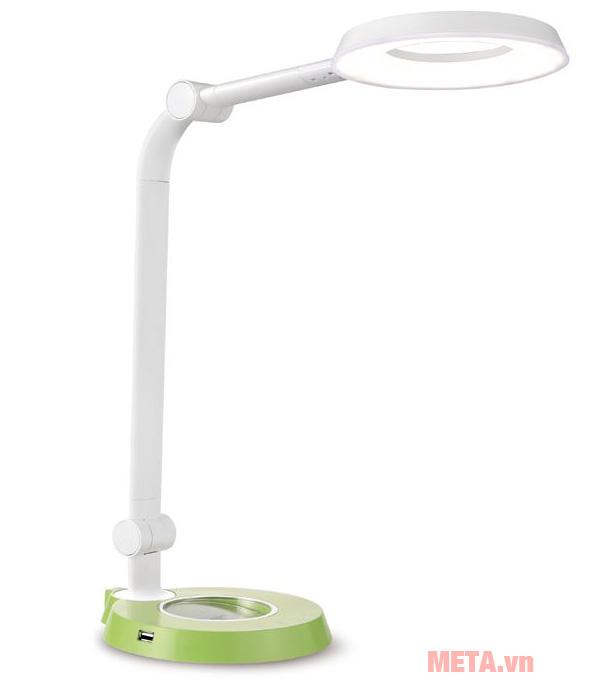 Đèn bàn led Hàn Quốc cảm ứng Prism 6300GR có thiết kế tinh tế