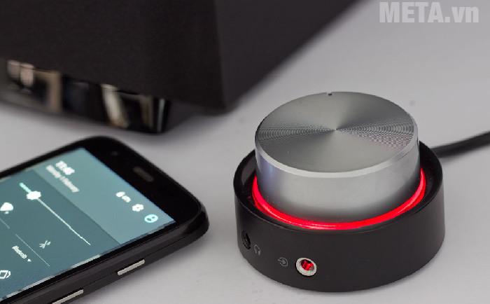 Điều khiển sáng đèn màu đỏ khi bạn chưa kết nối Bluetooth