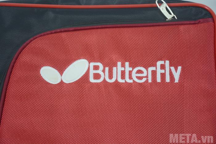 Túi bóng bàn vuông 2 ngăn Butterfly CA được làm từ vải dù chắc chăn