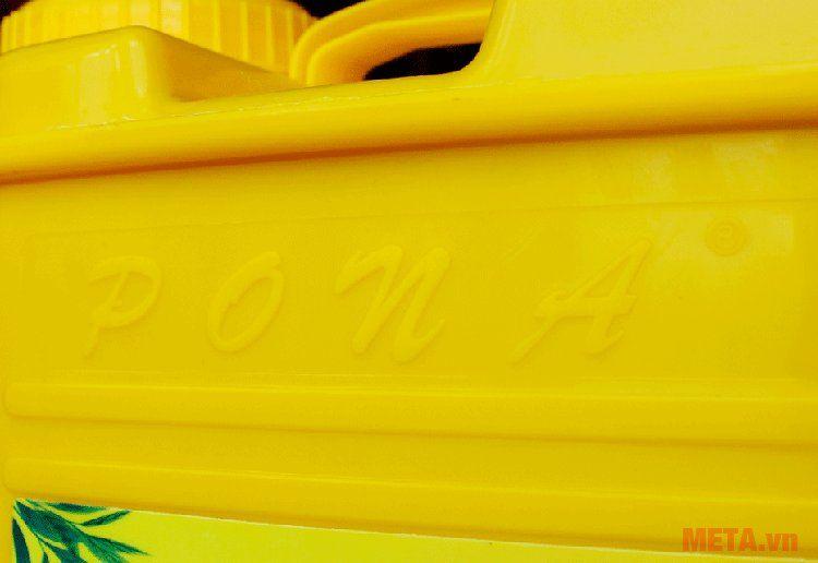 Máy phun thuốc trừ sâu điện Pona PN20-SP có thùng chứa nước bằng nhựa