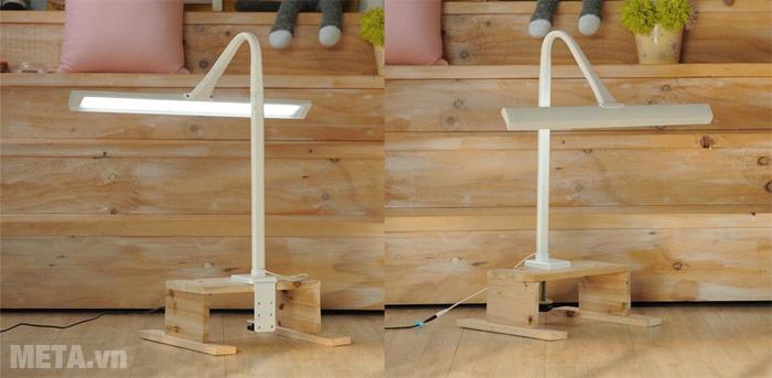 Đèn kẹp bàn led Hàn Quốc Broadwing Prism 7900 có thiết kế tao nhã