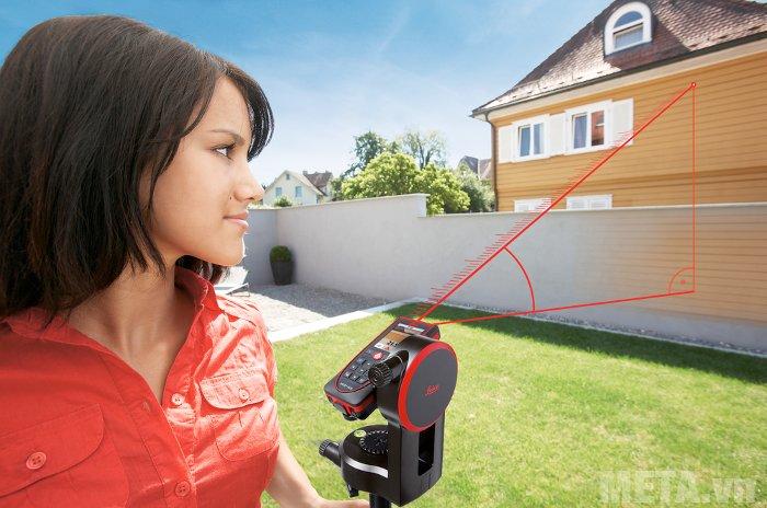 Máy đo khoảng cách laser Leica DISTOD410 có phạm vi đo 0.05m - 150m.