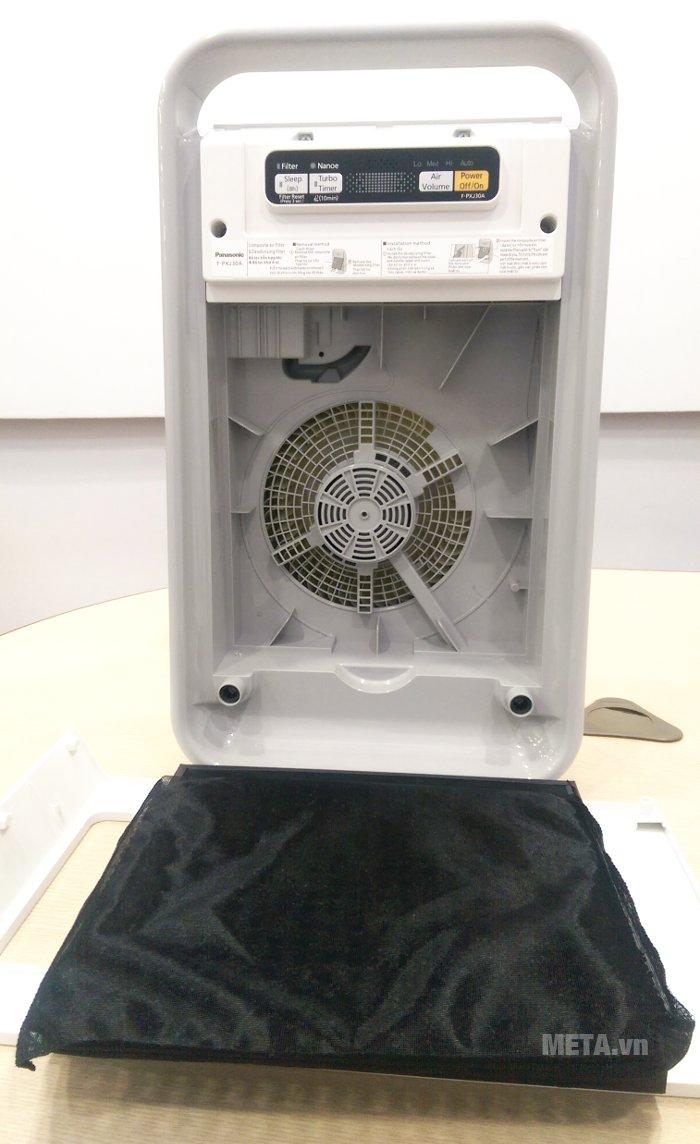 Máy lọc không khí Panasonic F-PXJ30A có chế độ lưu thông khí 3D