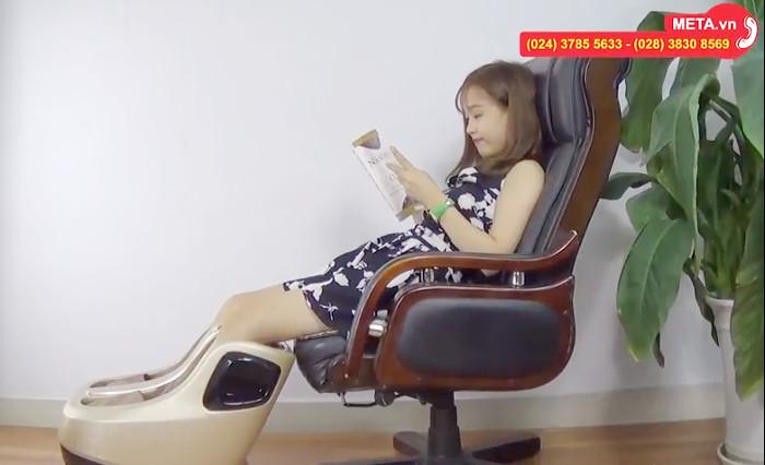 Máy massage chân Buheung MK-416 giúp bạn nâng niu đôi chân