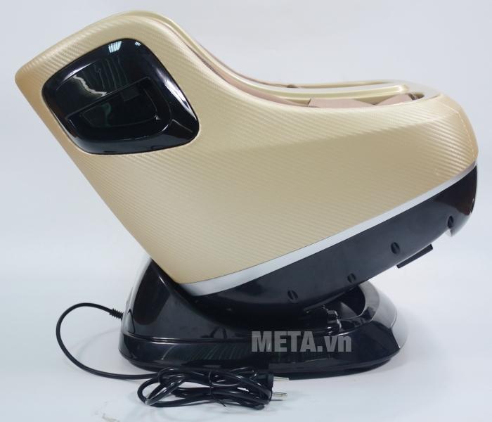 Bạn có thể ngồi ghế massage Buheung MK-416 ở tư thế ngả