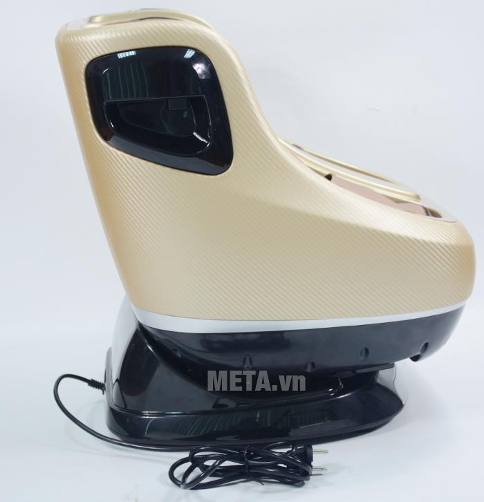 Bạn có thể ngồi ghế massage Buheung MK-416 ở tư thế thẳng