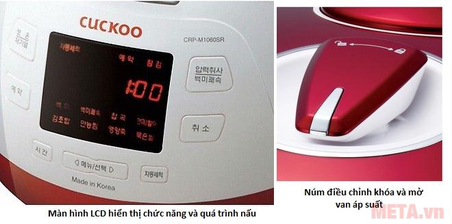 Nồi cơm điện đa năng Cuckoo CRP-M1060SR là nồi cơm chính hãng từ Hàn Quốc