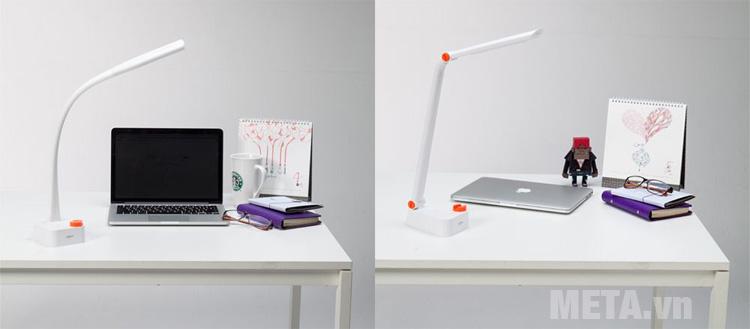 Thiết kế nhỏ gọn của đèn bàn led Hàn Quốc Prism 1777W